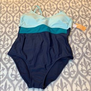 NWT target swimsuits with tie back